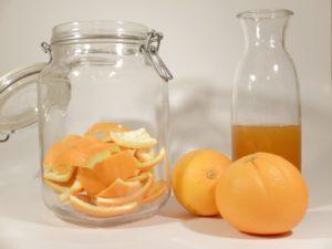 aus Orangen wird Reiniger