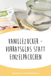 Vanillezucker selber machen – Pinterest