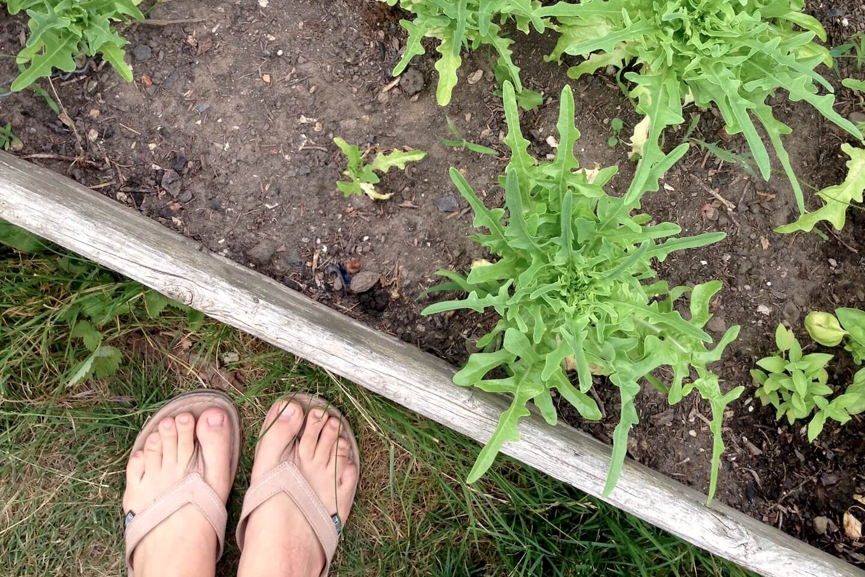 Mit FlipFlops von Ethletic draußen unterwegs. Bequeme Schuhe für den Sommer. Empfehlenswert!
