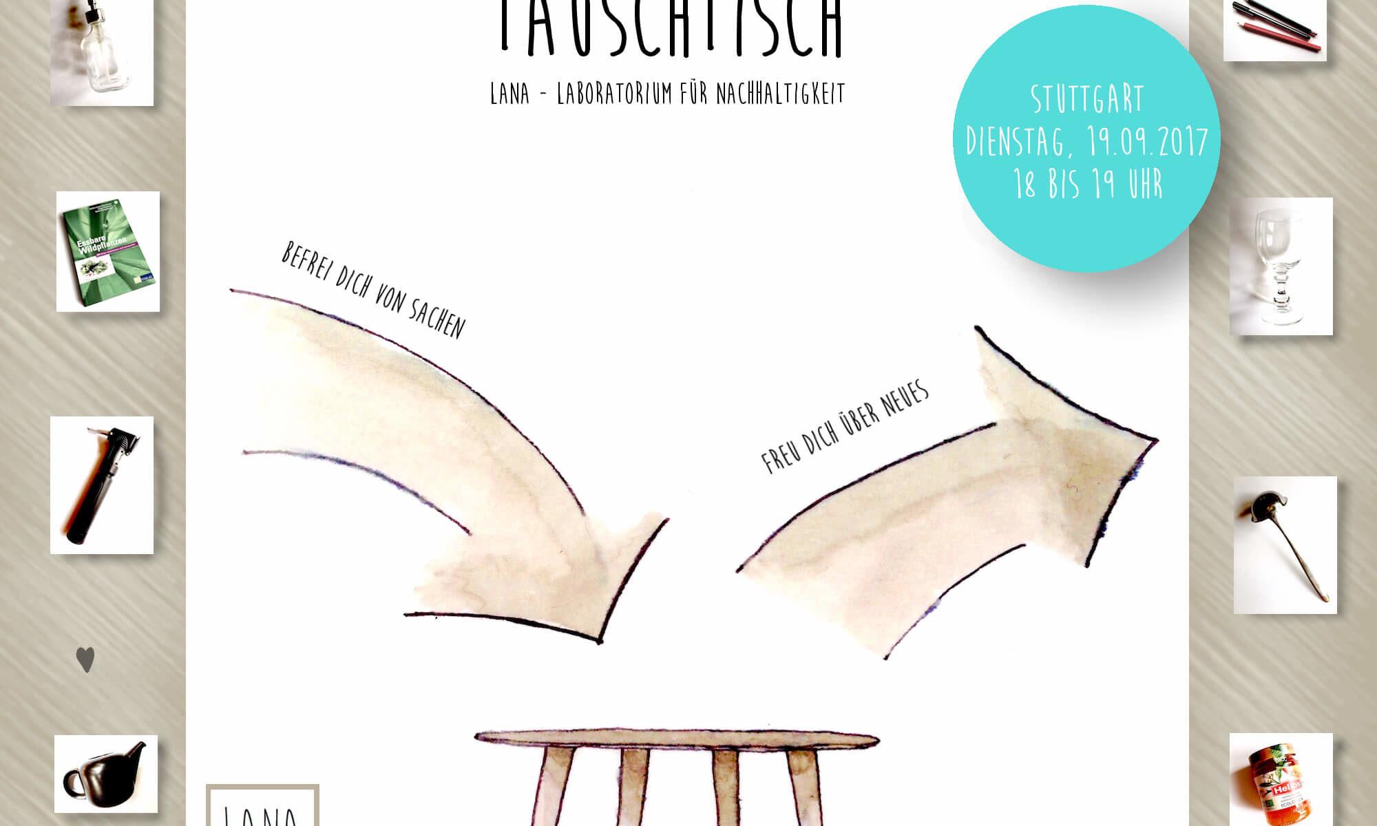 Tauschtisch - Befrei dich von Sachen, freu dich über Neues