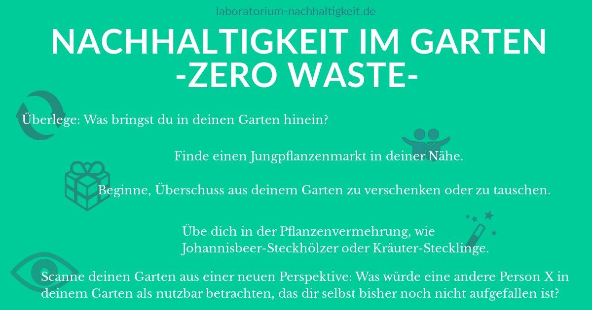 So Holst Du Zerowaste In Deinen Garten Wie Du Nachhaltig Lebst