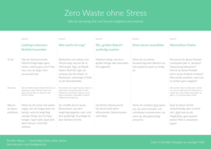 Zero Waste ohne Stress