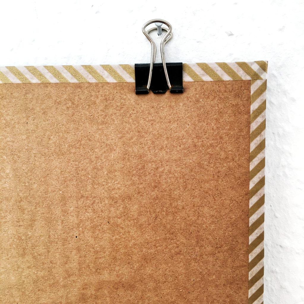 Pinnwand selber machen – nachhaltig, schnell & einfach, ohne Kork, DIY