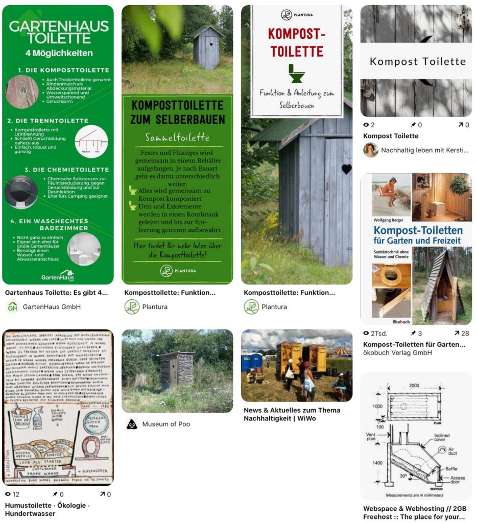 Kompost-Toilette im Garten selber bauen