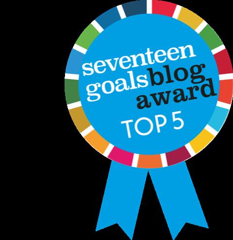 Seventeen Goals Blog Award Top 5